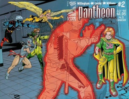 Teleportation (other)-Deathboy-Pantheon #2 (1998)