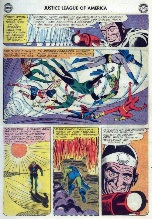 Teleportation (other)–Doctor Light-Justice League of America V1 #12