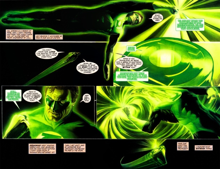 Teleportation (other)–Green Lantern–Justice #6 (2006)-7