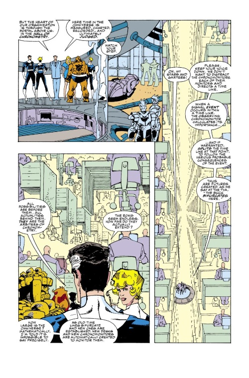 Time Manipulation-Time Variance Authority-Fantastic Four V1 #353