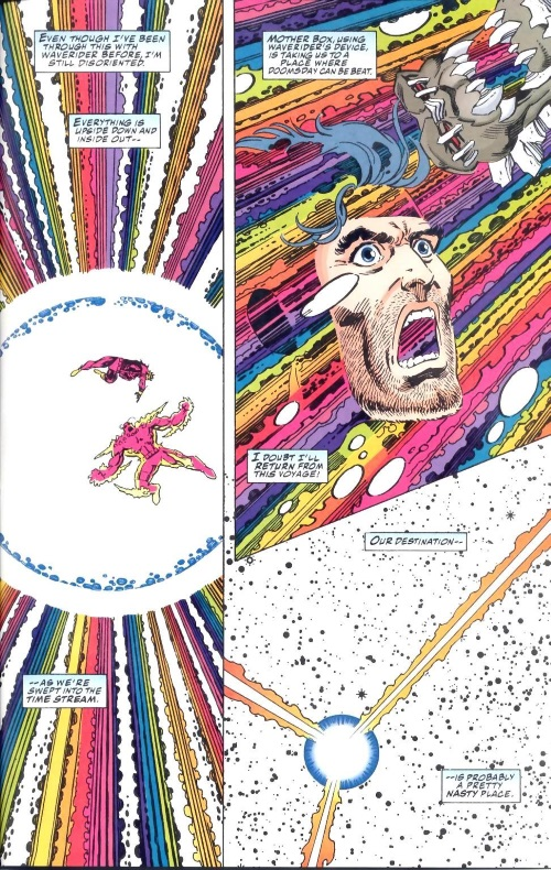 Time Travel (others)–Mother Box-Superman-Doomsday-Hunter Prey #3-46