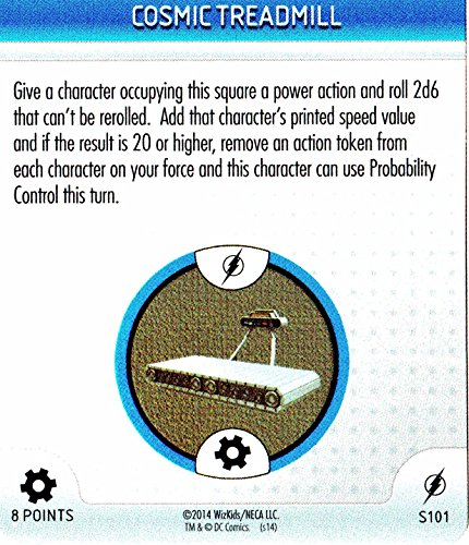 Time Travel (self)-device-Cosmic Treadmill Flash