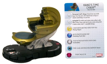 Time Travel (self)-device-Kang's Time Chair-HeroClix (Marvel)