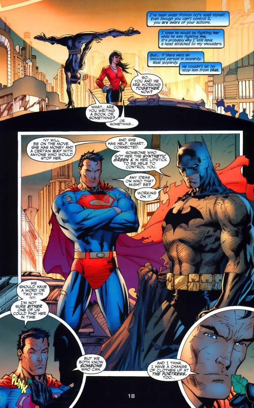 Toxin Resistance–Superman controlled by Poison Ivy-Batman #612