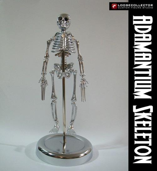 Toxin Resistance–Wolverine's adamantium skeleton