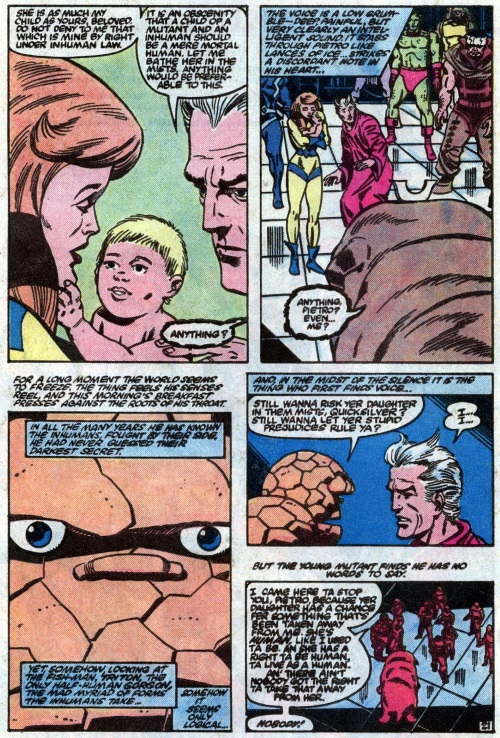 Transmutation (animal)-Lockjaw is human-The Thing V1 #3 (Marvel)