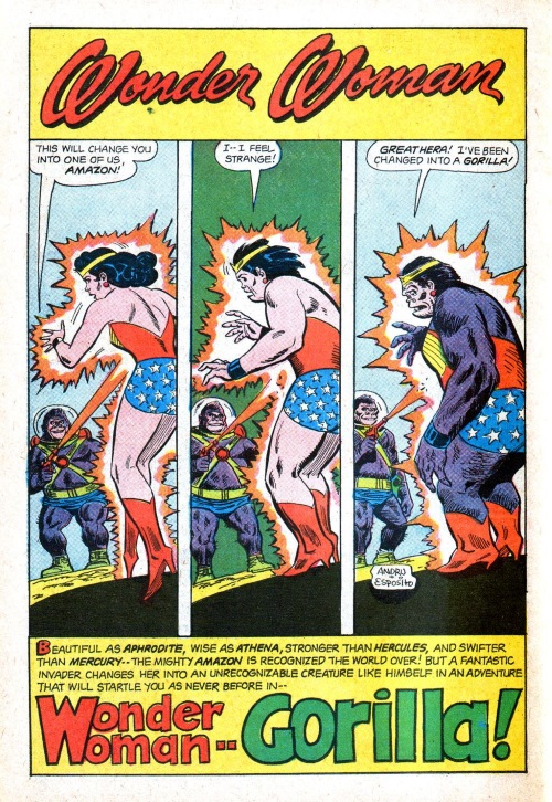Transmutation (animal)-OS-Gorilla-Wonder Woman V1 #170