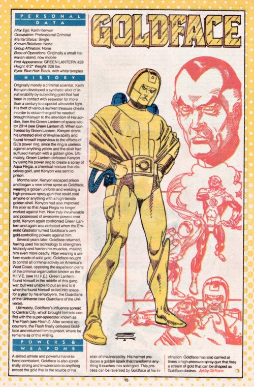 Transmutation (gold)-Goldface-DC Who's Who V1 #9