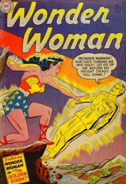 Transmutation (gold)-Wonder Woman V1 #72