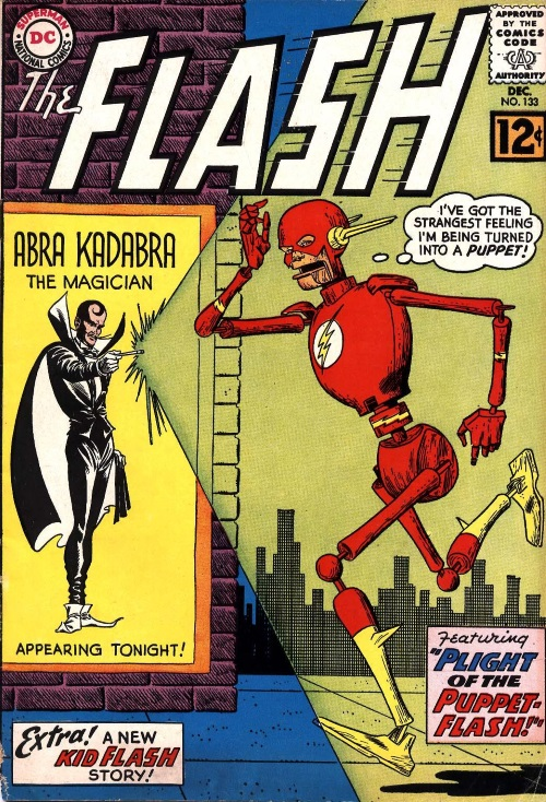 Transmutation (object)-Puppet-Abracadabra-The Flash V1 #133
