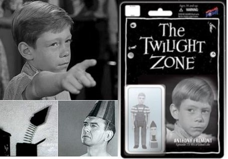 Transmutation (object)-Twilight Zone-Man turned into Jack in the Box-It's a Good Life