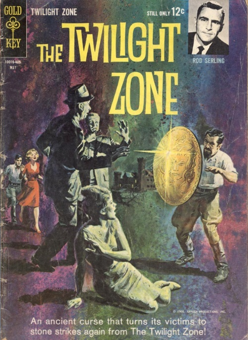 Transmutation (petrification)-Perseus Shield-The Twilight Zone #7 (1964)-1