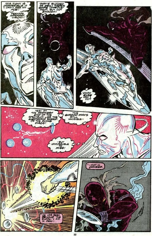 Vision (electromagnetic)–Silver Surfer vs Midnight Sun-Silver Surfer V3 #29