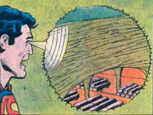 Vision (telescopic)–Superman (DC)