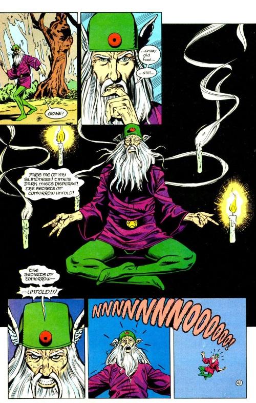 Vision (time)-Mordru vs Glorith-Legion of Super-Heroes Annual V4 #1-43