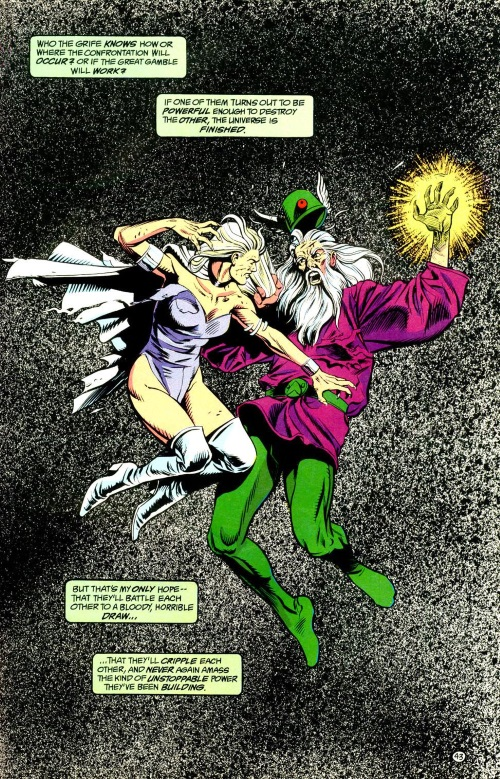 Vision (time)-Mordru vs Glorith-Legion of Super-Heroes Annual V4 #1-44