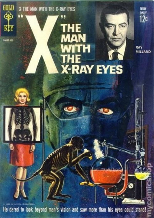 Vision (X-Ray)-X-The Man with X-Ray Eyes (Gold Key)