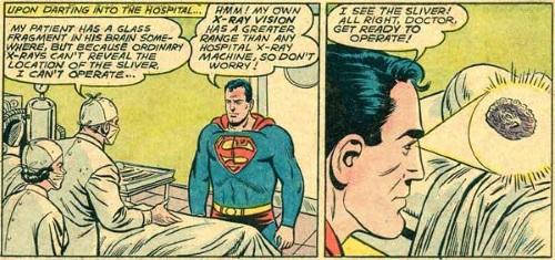Vision (X-Ray)–Superman-Action V1 #282 (DC)