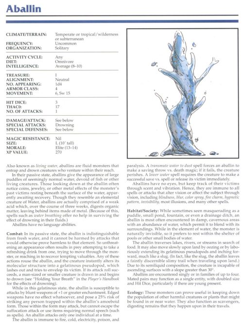 water-mimicry-aballin-tsr-2145-monstrous-compendium-annual-volume-1