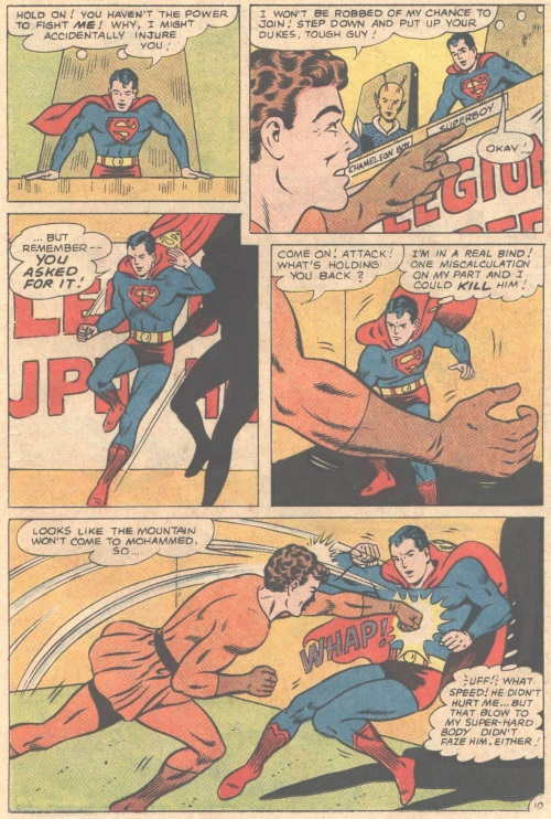 Weakness Detection-Karate Kid vs Superboy-Adventure Comics V1 #346-15