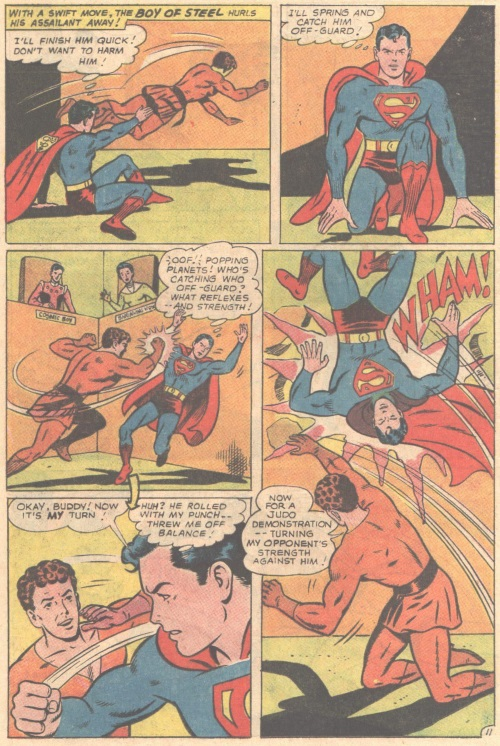 Weakness Detection-Karate Kid vs Superboy-Adventure Comics V1 #346-16