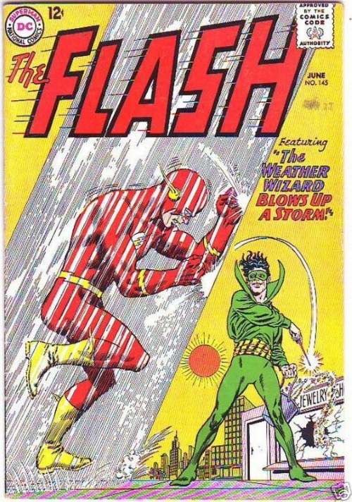 Weather manipulation–Weather Wizard (DC)-Flash V1 #145