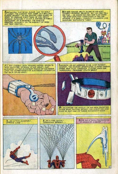 Webs (matter)–Annual Amazing Spider-Man #1