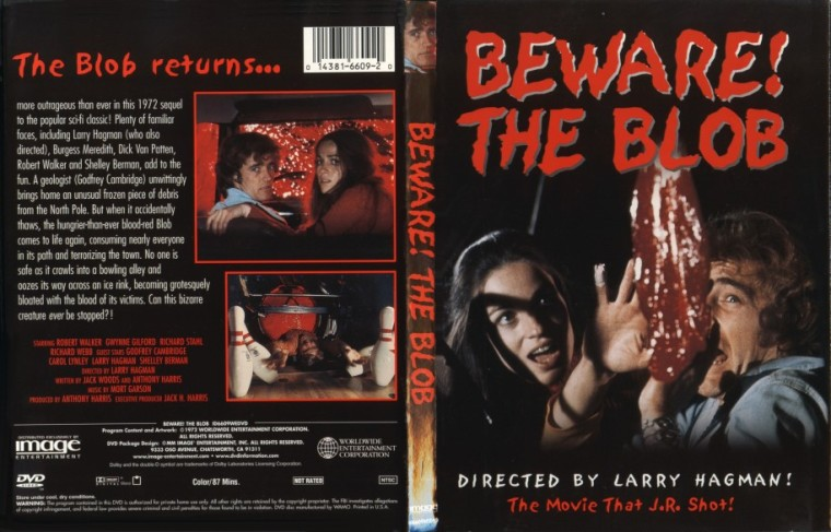 Amorphous Mimicry-Blob 1972-Beware the Blob DVD Cover