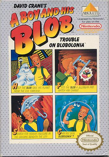 Amorphous Mimicry-Blobert-A Boy and His Blob (Nintendo)
