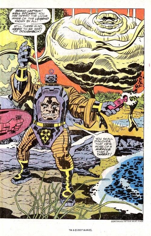Amorphous Mimicry-Doughboy-Captain America V1 #209