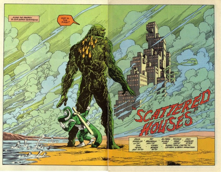 Amorphous Mimicry-Durlan Afterlife-Swamp Thing V2 #97-3