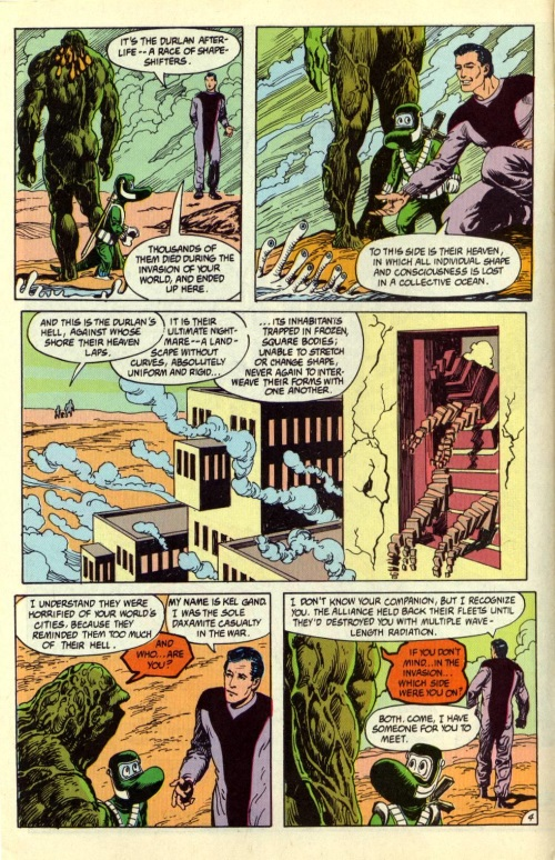 Amorphous Mimicry-Durlan Afterlife-Swamp Thing V2 #97-4