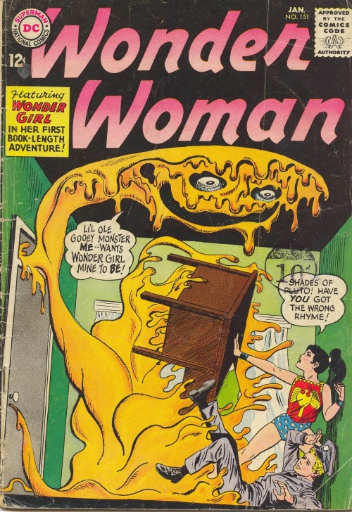 Amorphous Mimicry-Glop-Wonder Woman V1 #151