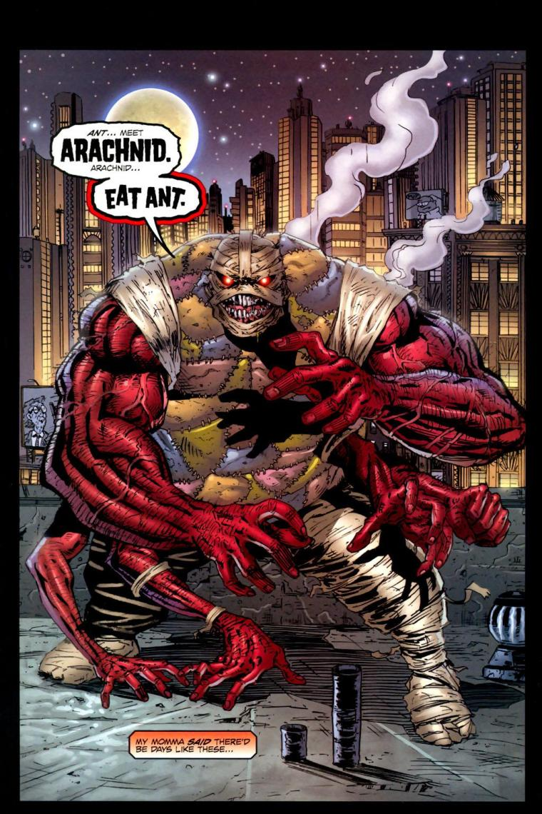 Arachnid Mimicry-Arachnid-Ant V2 #1 (Image)