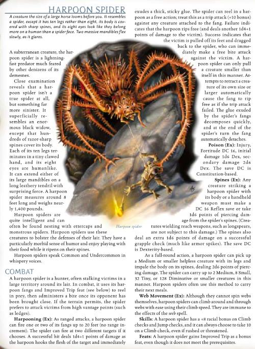 arachnid-mimicry-harpoon-spider-dd-3-5-monster-manual-iii