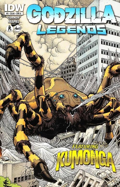 arachnid-mimicry-kumonga-godzilla-legends-5-idw