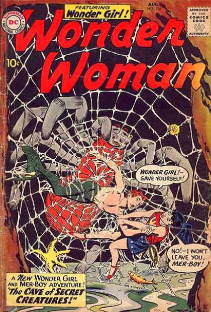 Arachnid Mimicry-OS-Wonder Woman V1 #116
