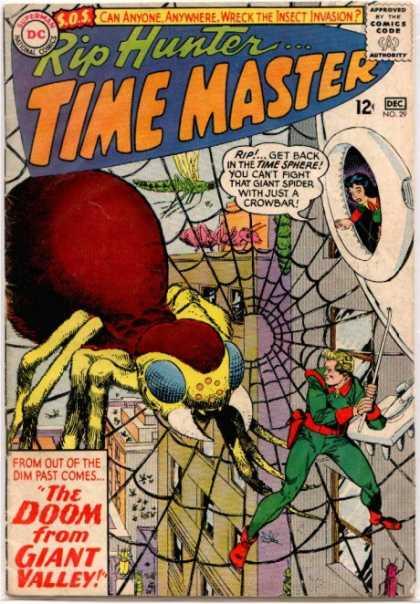 Arachnid Mimicry-Rip Hunter Time Master #29