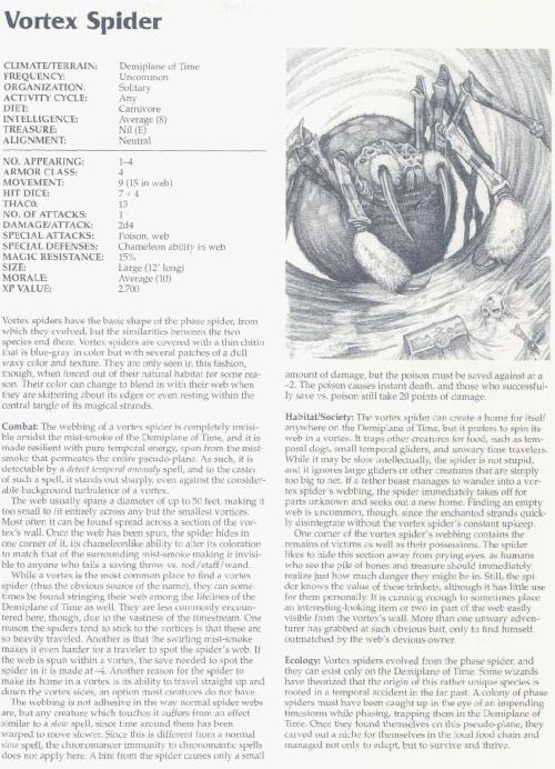 arachnid-mimicry-spider-vortex-tsr-2166-monstrous-compendium-annual-volume-3