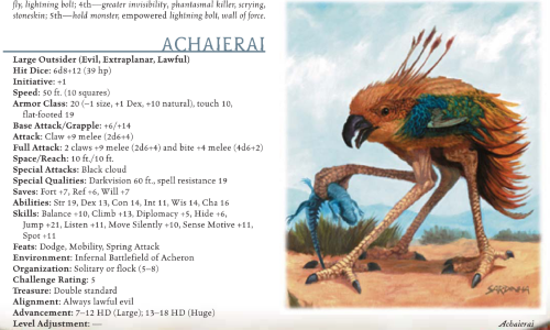 avian-mimicry-archaierai-dd-3-5-monster-manual-i