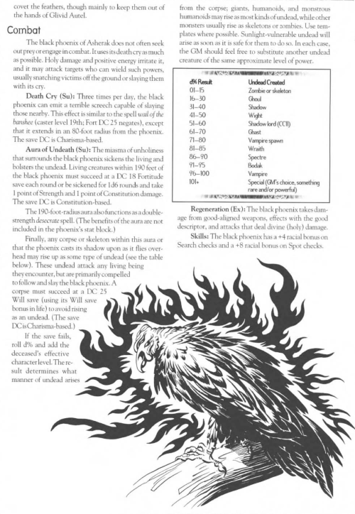 avian-mimicry-black-phoenix-creature-collection-iii-savage-bestiary