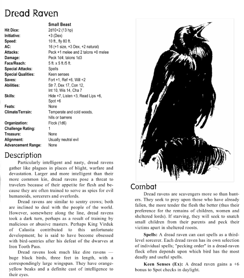 avian-mimicry-dread-raven-creature-collection-i