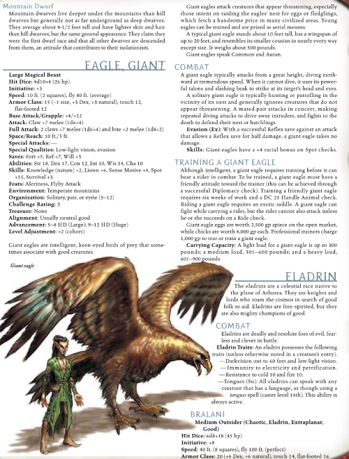 avian-mimicry-giant-eagle-dd-3-5-monster-manual-i