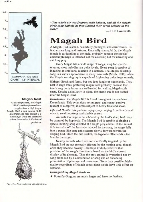 avian-mimicry-magah-bird-field-guide-to-creatures-of-the-dreamlands-1