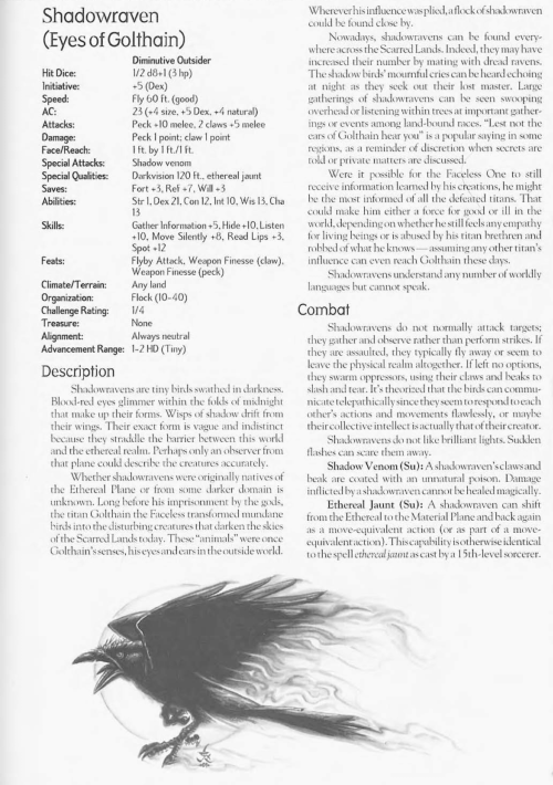 avian-mimicry-shadowraven-creature-collection-ii-dark-menagerie