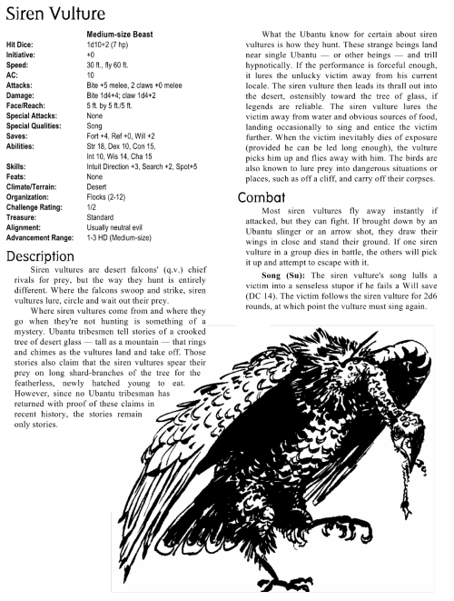 avian-mimicry-siren-vulture-creature-collection-i