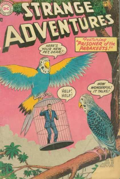Avian Mimicry-Strange Adventures V1 #52