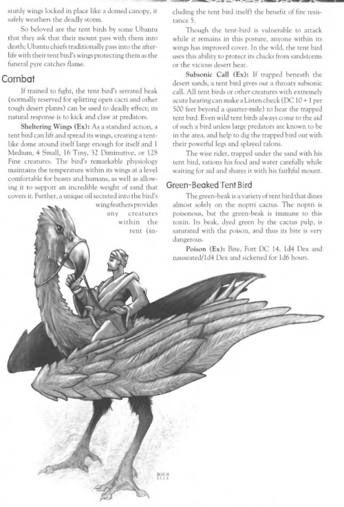 avian-mimicry-tent-bird-creature-collection-iii-savage-bestiary