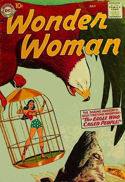 Avian Mimicry-Wonder Woman V1 #91