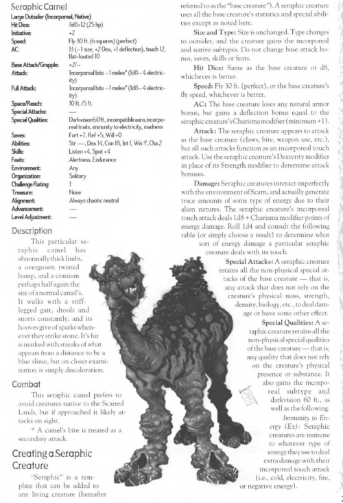 camelid-mimicry-seraphic-camel-creature-collection-iii-savage-bestiary